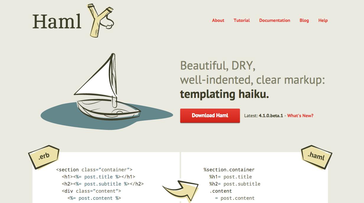 haml website